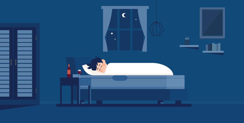 Gør alkohol, at man sover bedre?