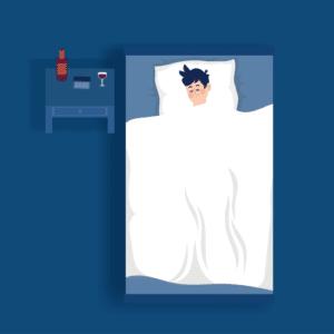 Hvordan påvirker alkohol søvnen